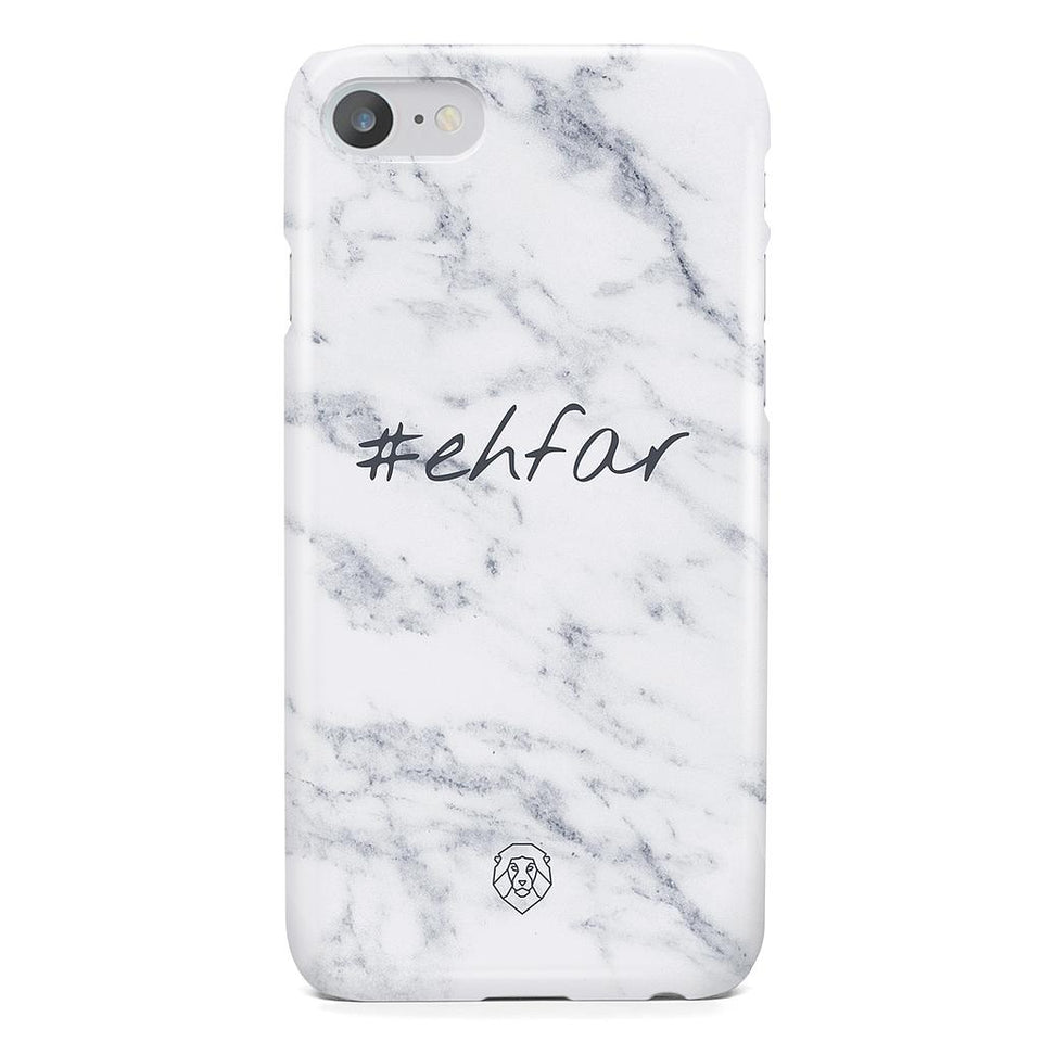 EHFAR Hashtag White Phone Case