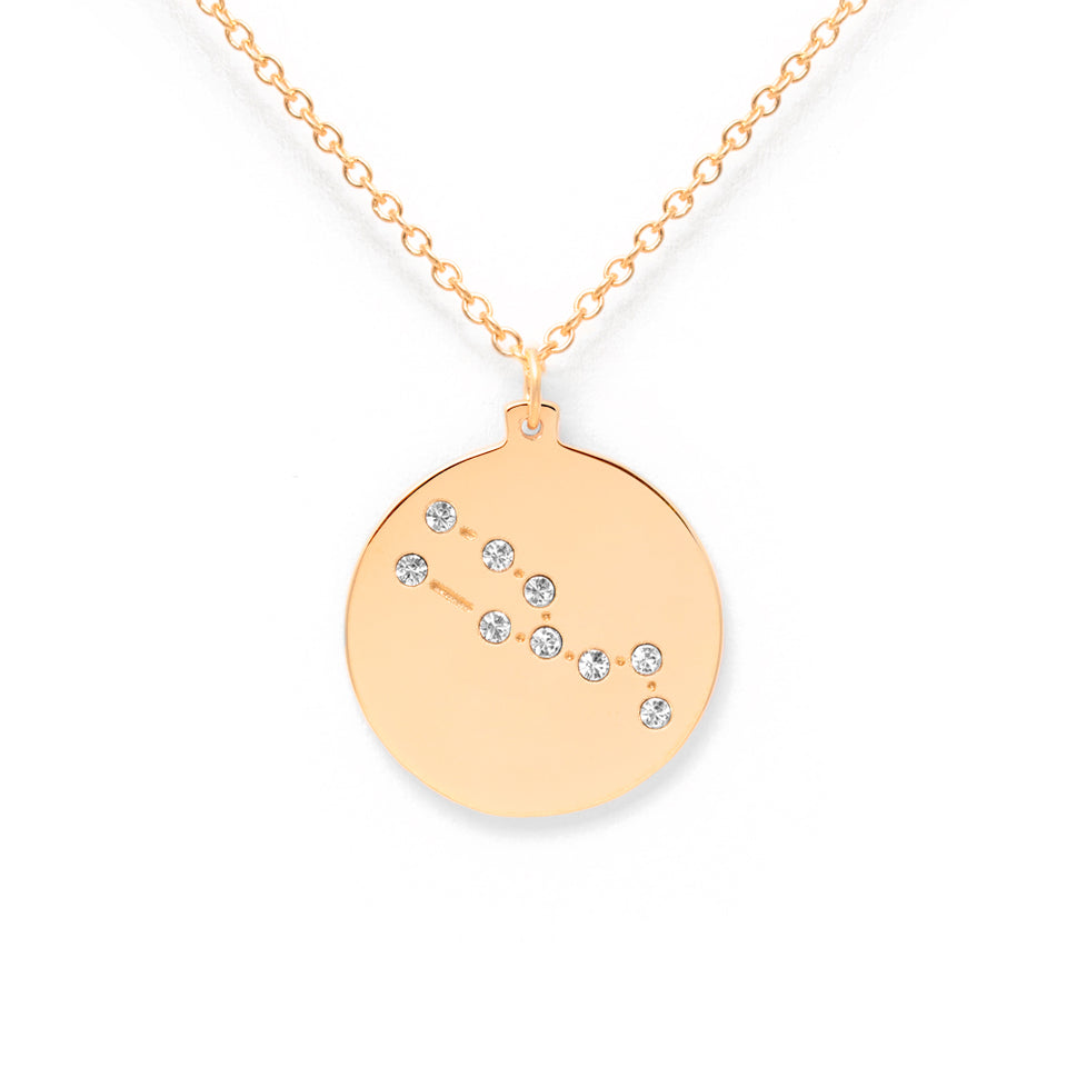 Constellation TAURUS Necklace Glossy