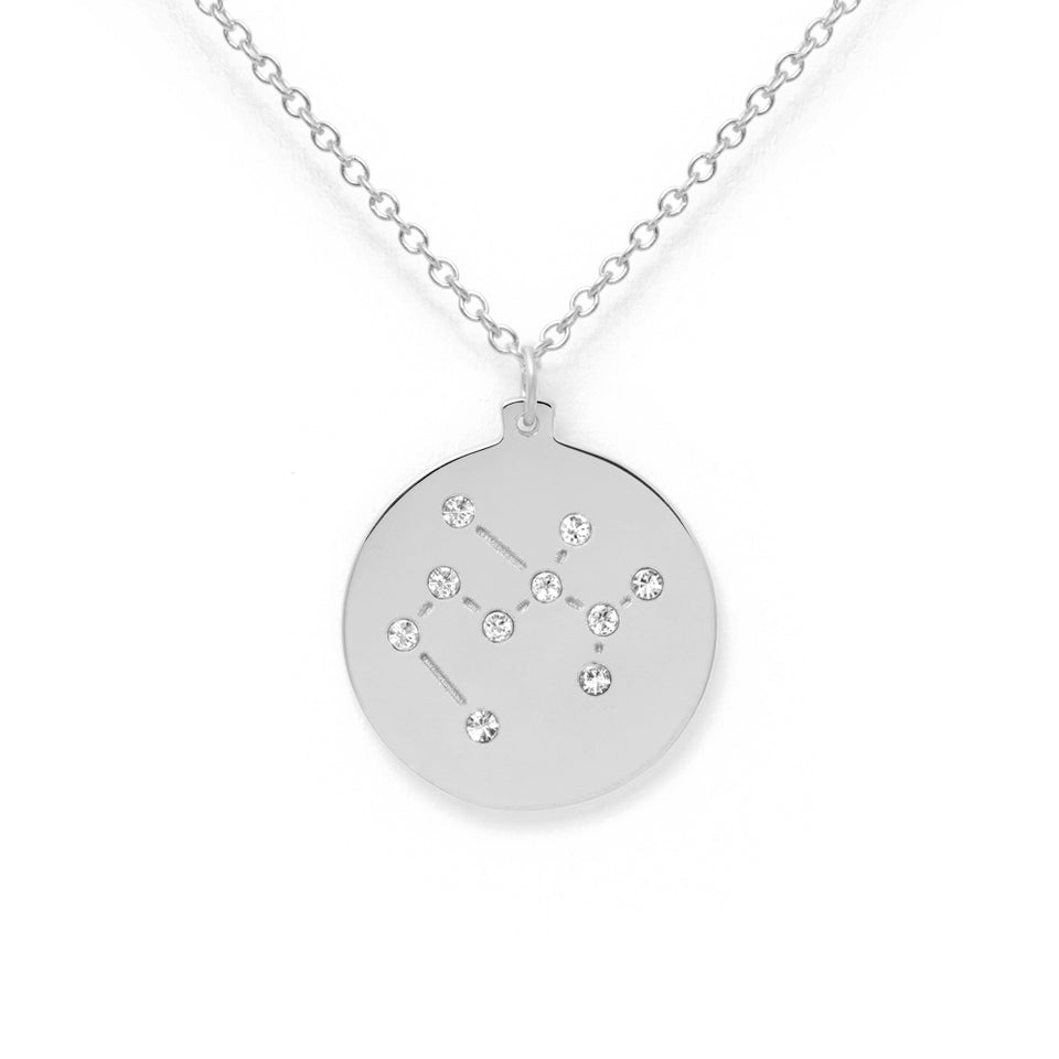 Constellation SAGITTARIUS Necklace Glossy
