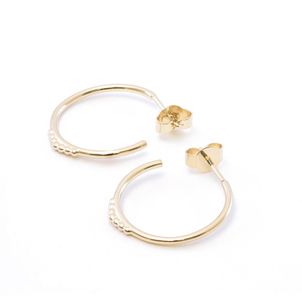 Theia Hoop Earrings