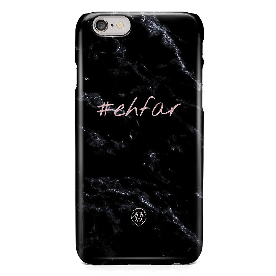EHFAR Hashtag Black Phone Case