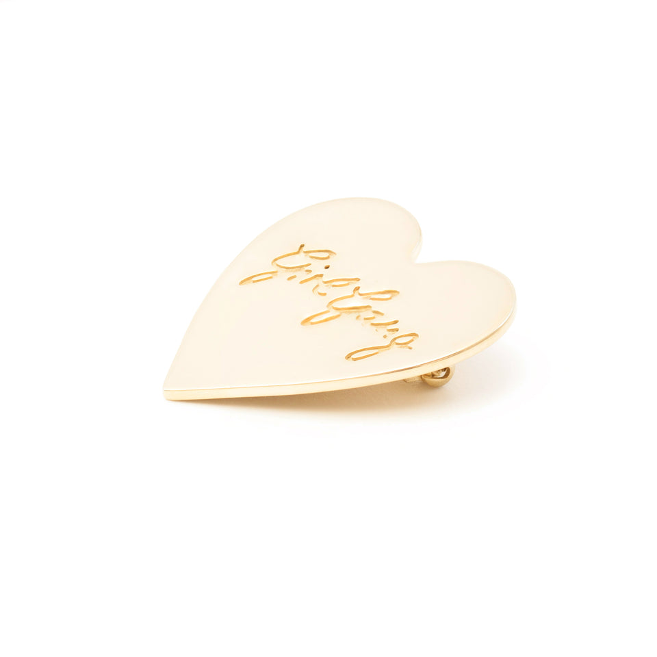 Girl Gang Brooch-Brass Gold Plated