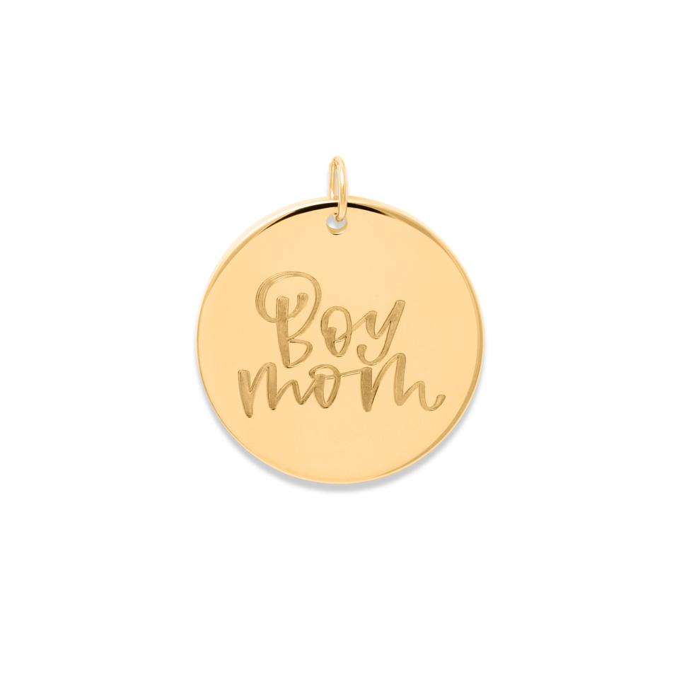 Boy Mom Pendant #mommycollection