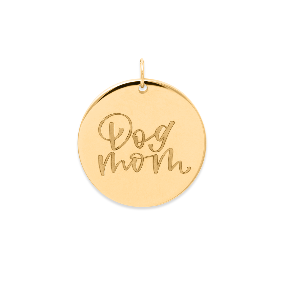 Dog Mom Pendant #mommycollection