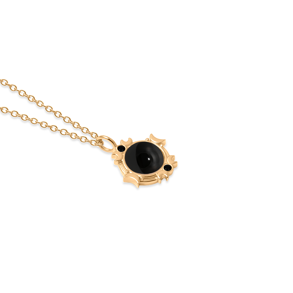 Magic Spell Necklace No.2 Onyx