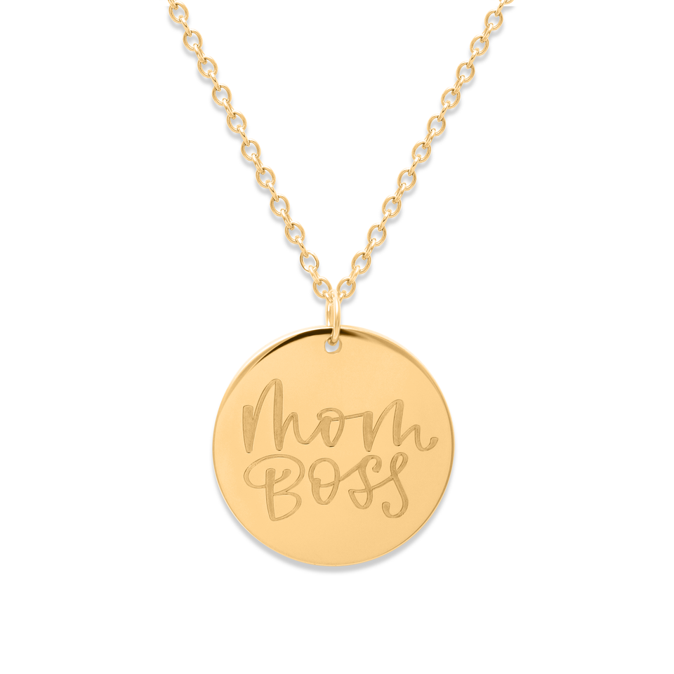 Mom Boss Necklace #mommycollection