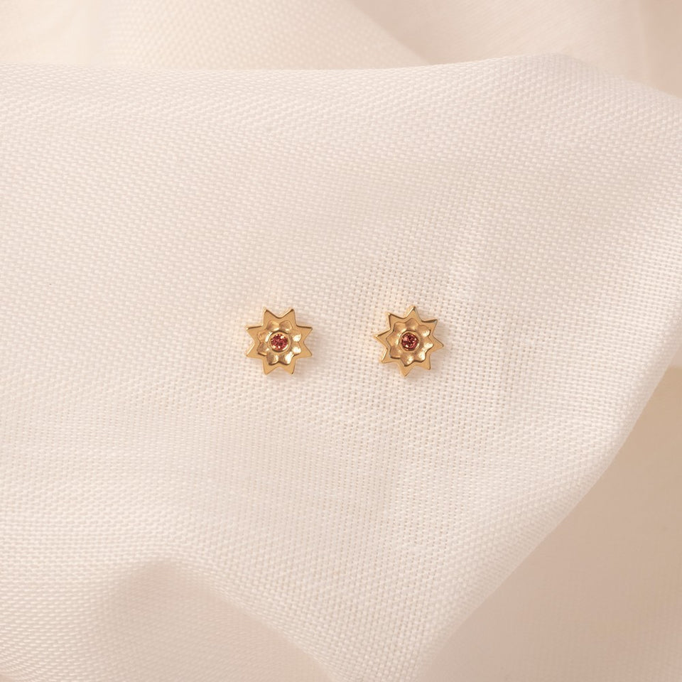 Birthstone JUN Earrings