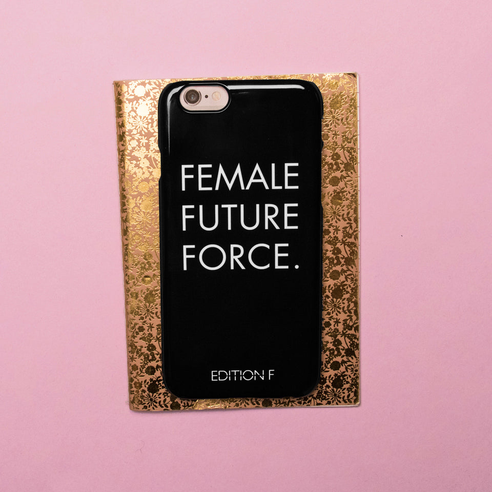 Female Future Force Black Phonecase #fff