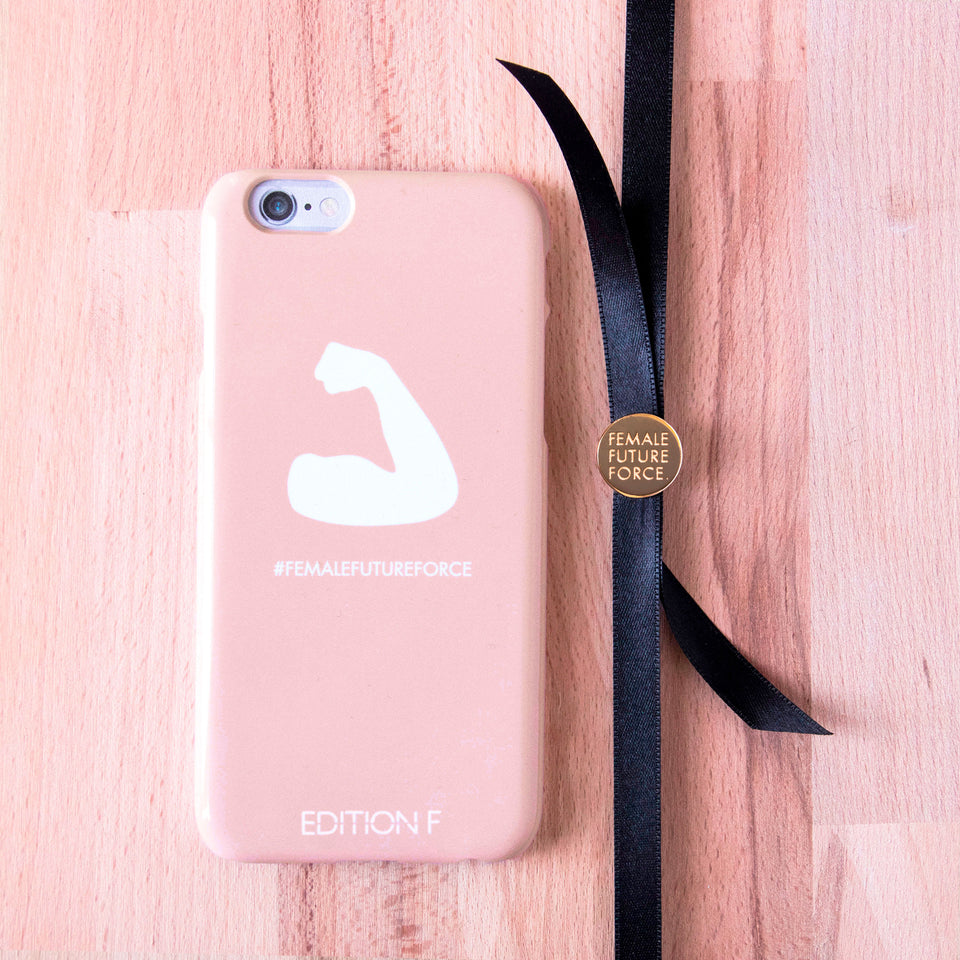 We can do it! Pink Phonecase #fff
