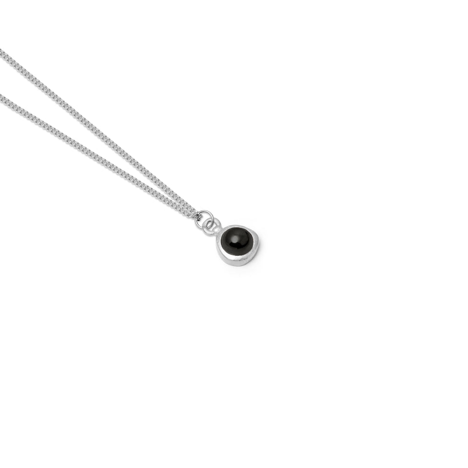 Zodiac Birthstone Necklace (Aquarius)
