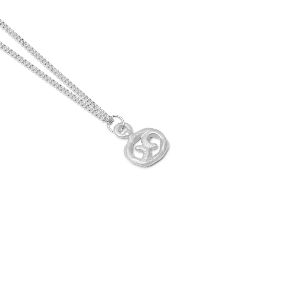 Zodiac Charm Necklace (Cancer)