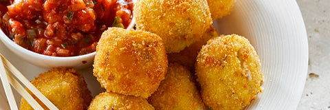 Air Fryer Pap Balls