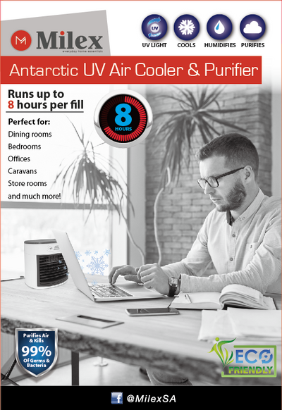 Milex Arctic UV Air Cooler & Purifier FABS