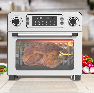 Milex - 23 Litre Air Fryer Oven with Rotisserie