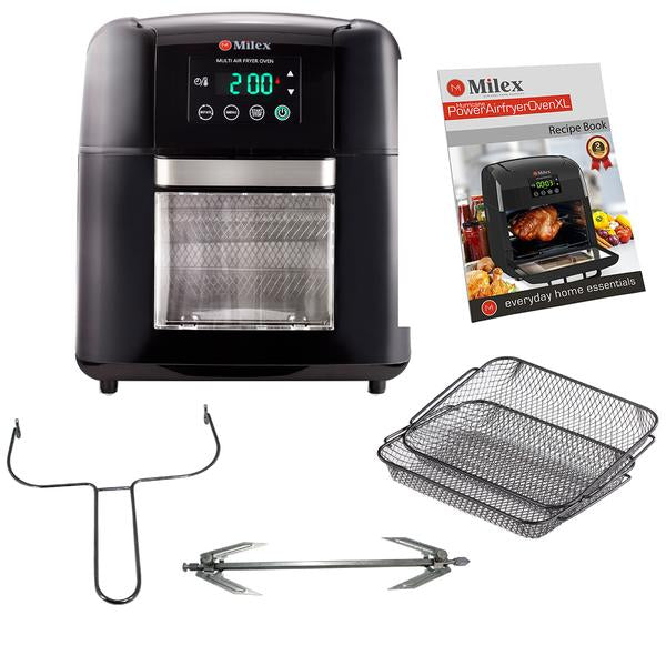 Digital Hurricane Power AirFryer Oven XL with Rotisserie