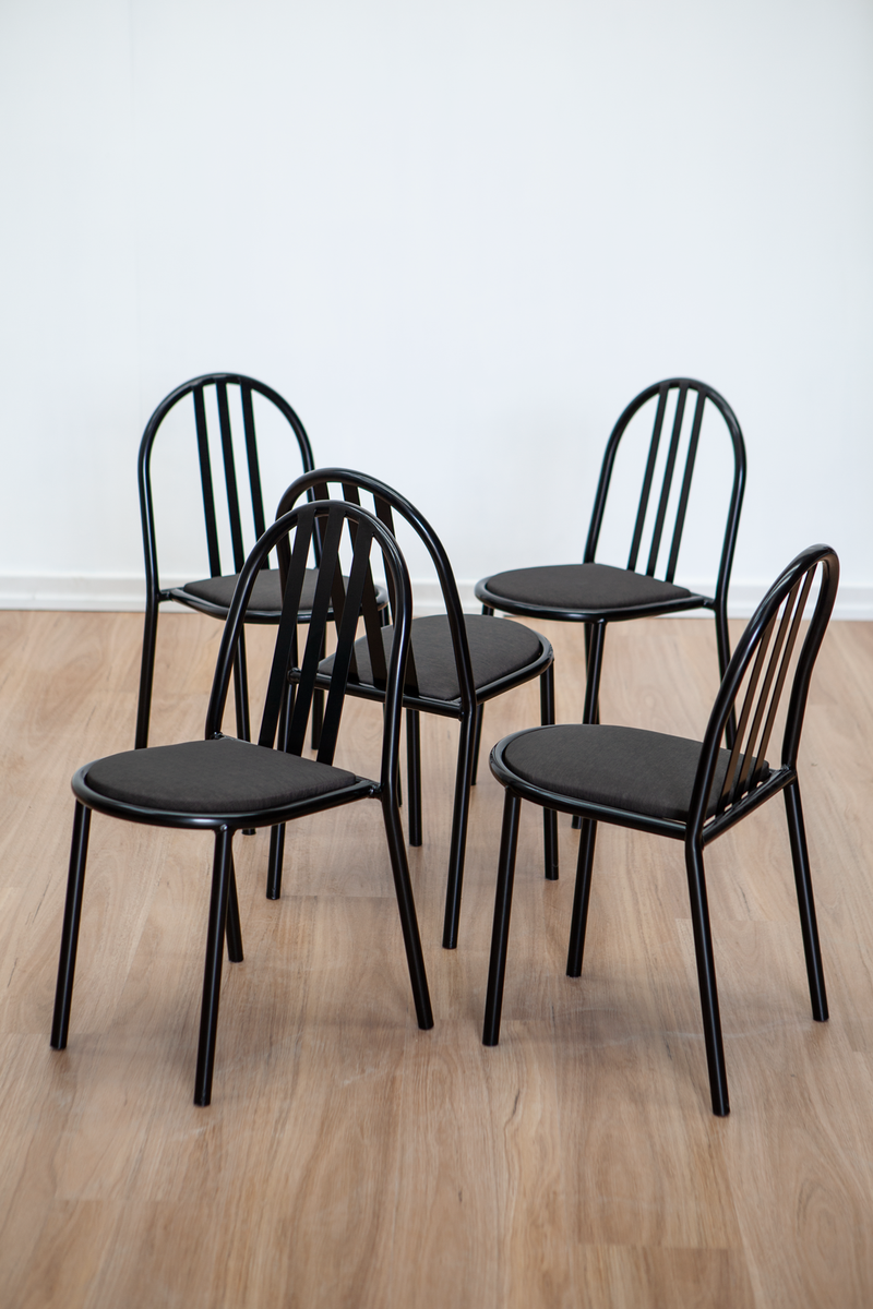 Set of four Dining Chairs by Robert Mallet-Stevens, French, 1970s