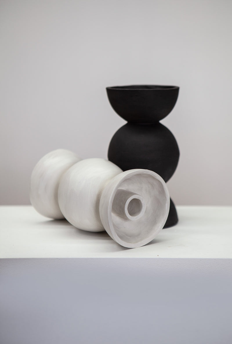 Ceramic 'Orb' Candle Holder by iaai, Berlin