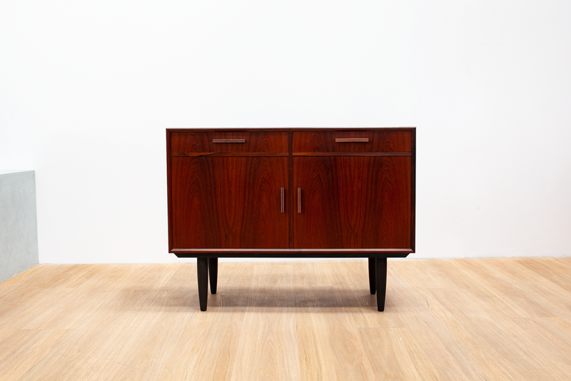 Small Rosewood Sideboard, Danish, 1970's