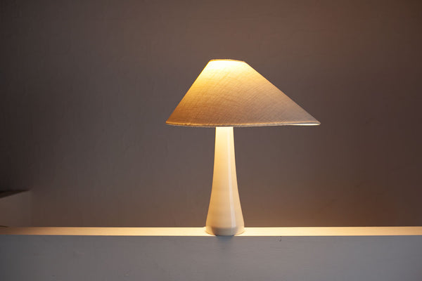 Tapered Asymmetrical Shaded Lamps, Danish