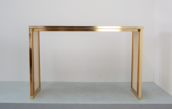 Console Table by Willy Rizzo for Mario Sabot, Italian, 1960's