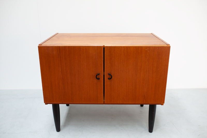 Small Teak Sideboard, Danish, 70's