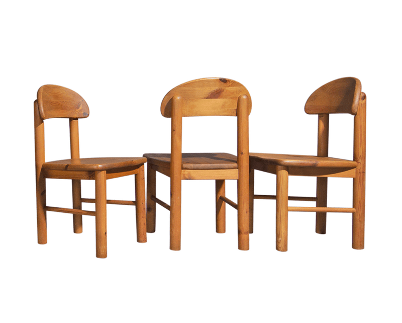 Rainer Daumiller Dining Chairs in Pine