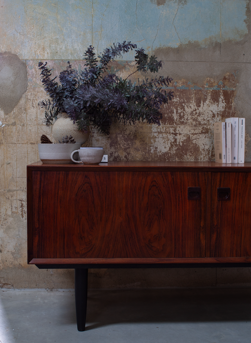 Low Sideboard in Rosewood, Denmark, 60s