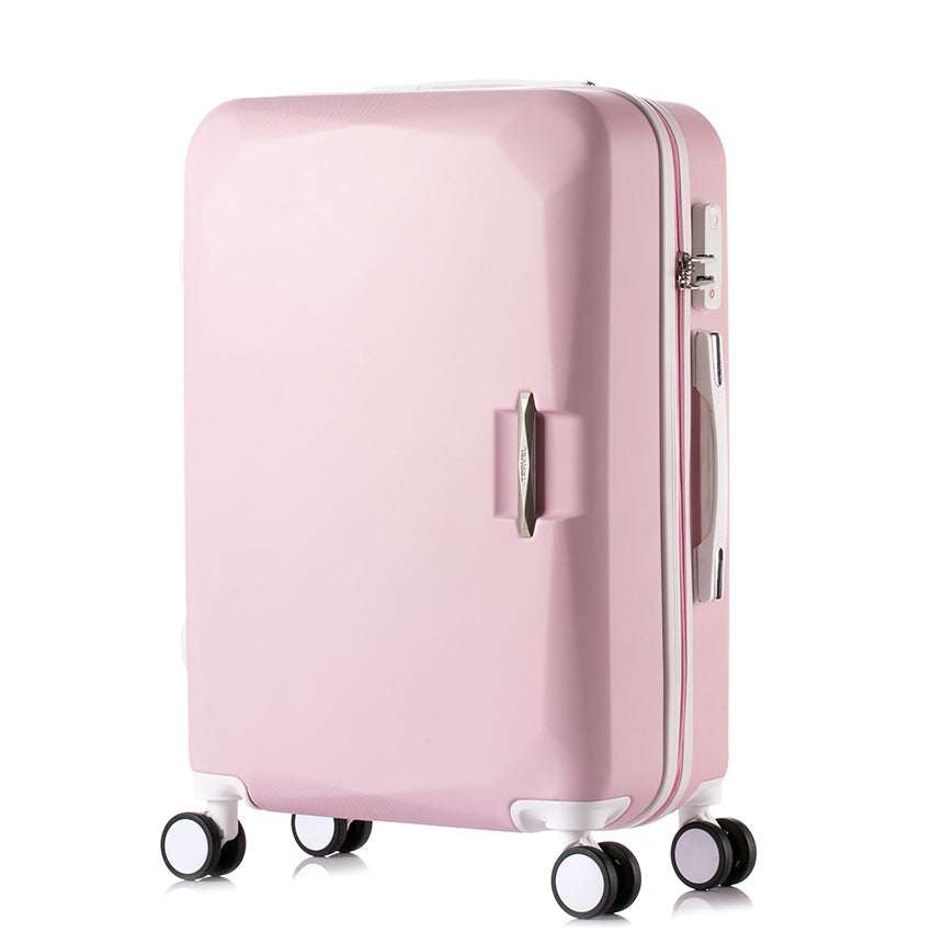 carry-on+Suitcase+with+wheels+Girl+and+kids+pink+luggage+travel+bag+trolley+bags+children