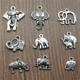 Elephant+Charms+Antique+Silver+Color+Cute+Elephant+Charms+Pendants+For+Bracelets+Small+Elephant+Charms+Making+Jewelry