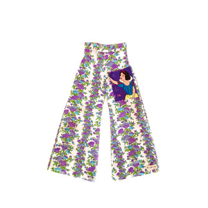 GIRLS SIZE 10 - GROOVY SNOW WHITE PANTS
