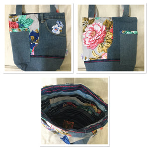 LADIES UPCYCLED BAGS