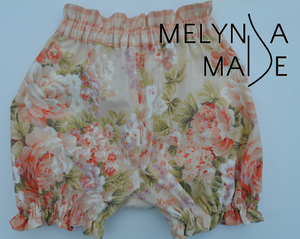 SIZE 2 - UPCYCLED BLOOMERS