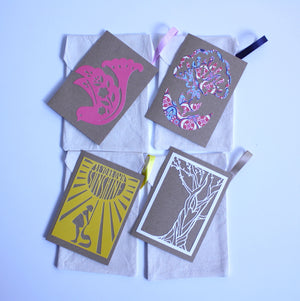 REUSABLE GREETING CARD SET