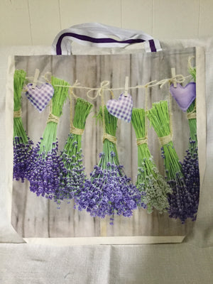 GRAB AND GO REUSABLE SHOPPING TOTE