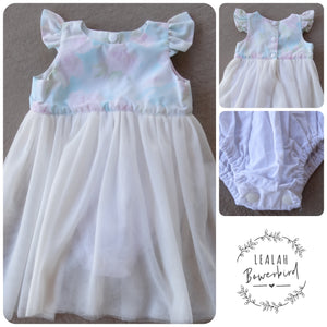 SIZE 00 - PASTEL BEAUTY ROMPER