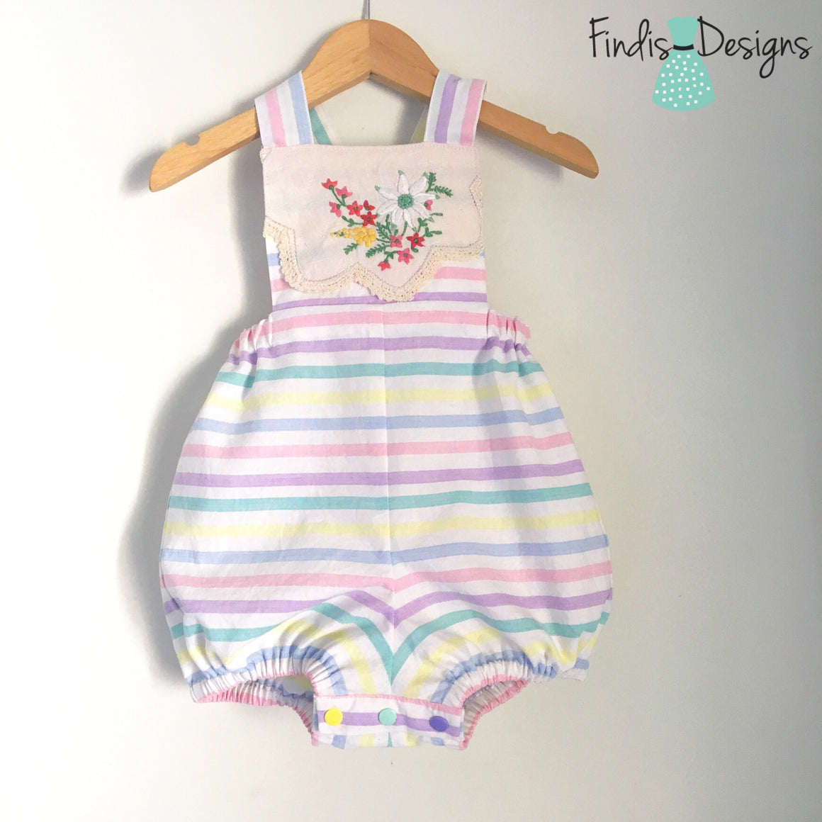 SIZE 18-24 MONTHS SPRING ROMPER