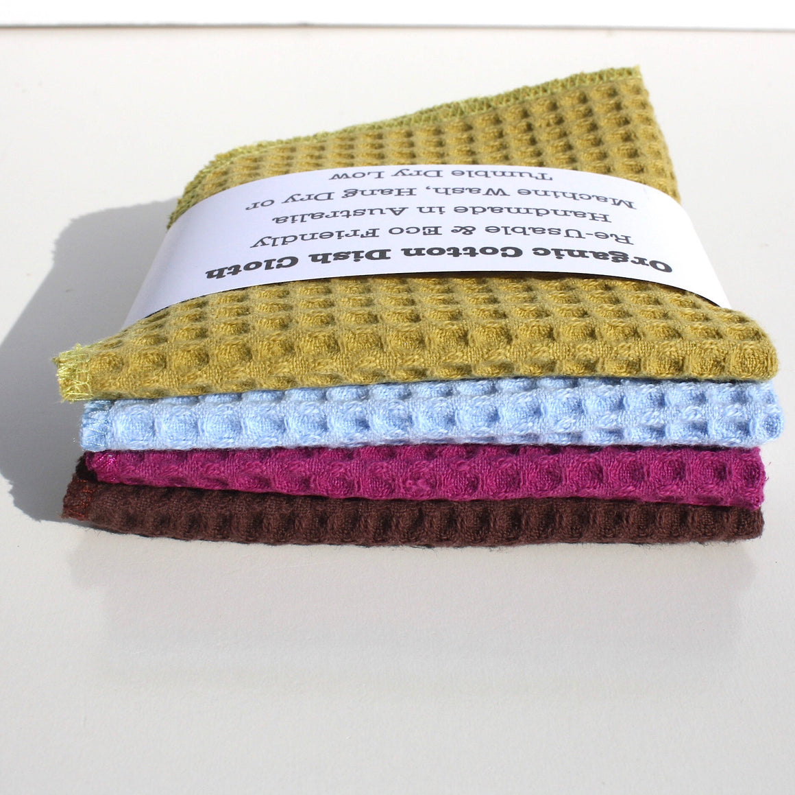 4 PACK - ORGANIC HOUSEHOLD CLOTHS