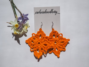 CHAND CROCHET DIAMOND EARRINGS