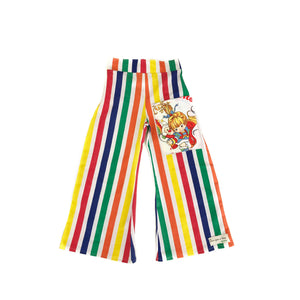 GIRLS SIZE 10 - RAINBOW BRITE PANTS