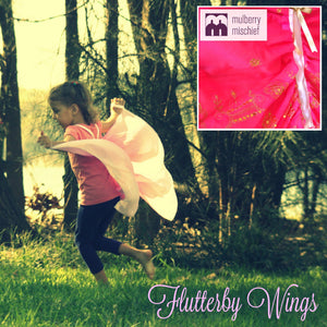 SIZE 2-3  INDIAN SUMMER FLUTTERBY WINGS