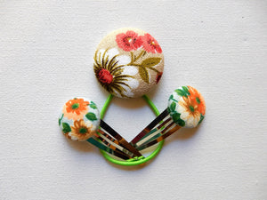 Vintage Fabric Hair Accessories