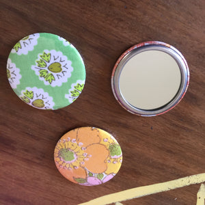 Fabric Pocket/Wallet Mirrors
