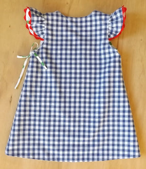 SIZE 18-24 MONTH THOMAS THE TANK WRAP DRESS