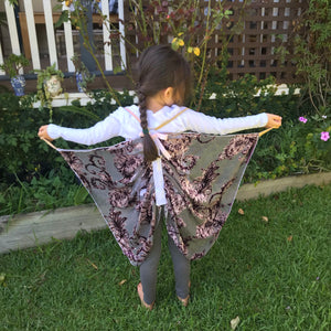 SIZE 6-7 ART DECO FLUTTERBY WINGS
