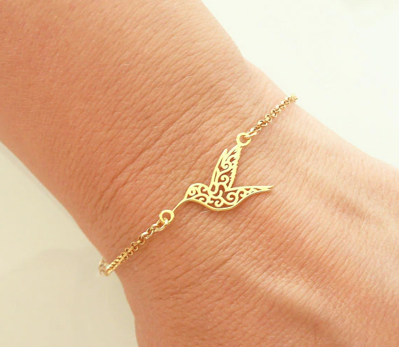 Beautiful Hummingbird Bracelet