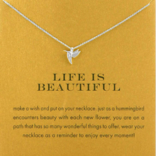 Load image into Gallery viewer, Life is Beautiful Necklace