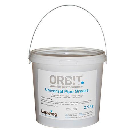 Easy Joint Lubrication Grease - Orbit - Drain Cleaning & Testing - Lapwing UK