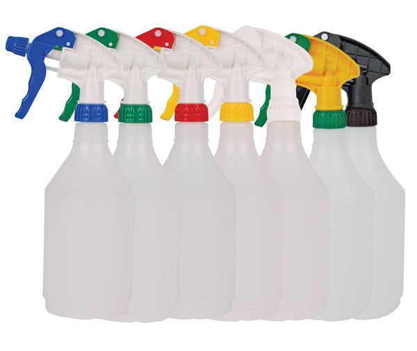 750ml Refillable Hand Trigger Spray Bottle - Orbit - Janitorial Supplies - Lapwing UK
