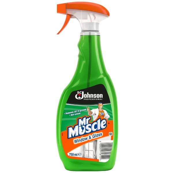 Mr Muscle Window & Glass Cleaner - Orbit - Janitorial Supplies - Lapwing UK