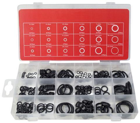 225PC Assorted O Rings Set - Orbit - Fixings & Fasteners - Lapwing UK